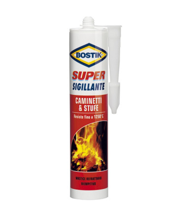 Super Sigillante Bostik Caminetti & Stufe Bostik 530 gr