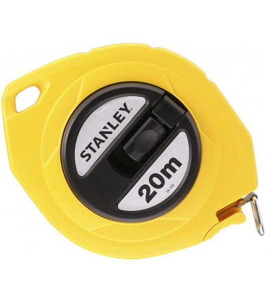 Stanley steel tape measure 20 mt 0-34-105