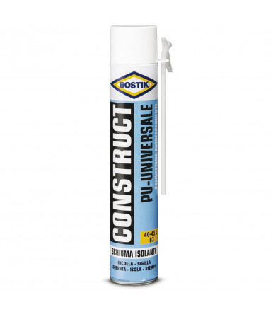 Bostik foam universal construct PU 750 ml manual