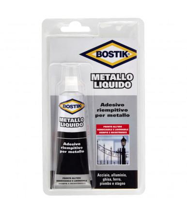 Metallo liquido-Adesivo fluido e riempitivo per metallo Bostik 55 ml