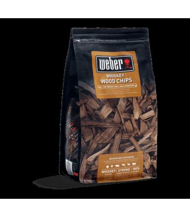 Smoke Chips - Whiskey 0.7 kg Weber 17627