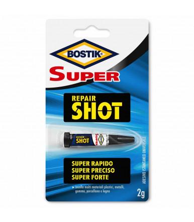 Bostik Super Repair Shot liquid adhesive for super fast and precise repairs 2 gr