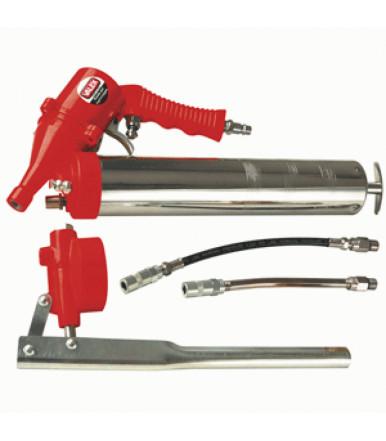 Pneumatic grease gun and manual Valex