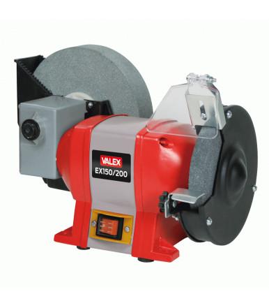 Valex combined bench grinder EX150 / 200, 200 water wheel, 150 wheel
