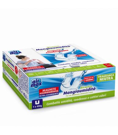Tab Magnete assorbi umidità 450g Air Max ® Mangiaumidità neutra