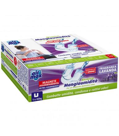 Tab Magnete assorbi umidità 450g Air Max ® Mangiaumidità lavanda