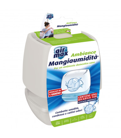 Air MAx ® Mini Kit Assorbiumidità ambiente bianco da 100g
