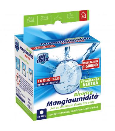 Tab Magnete assorbi umidità 2 x 100g Air Max ® Mangiaumidità neutra
