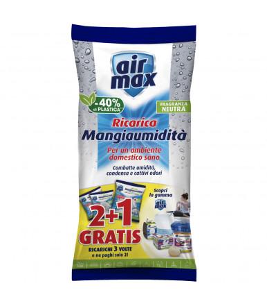 Air Max ® ricarica sali assorbenti 1,35 kg neutro per kit Assorbiumidità ambiente
