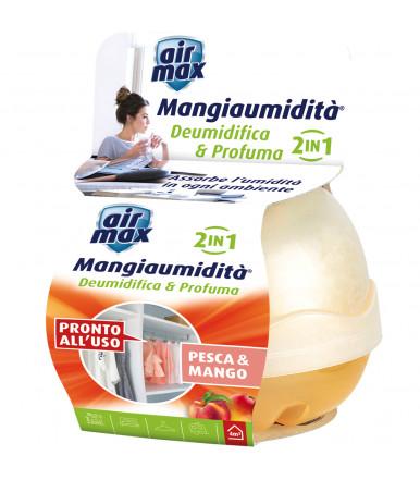 Air MAx ® Mangiaumidità deumidifica e profuma 40 gr pesca e mango
