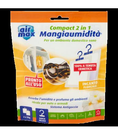 Air Max ® Mangiaumidità appendibile Compact 2 in 1 Incanto Floreale 2x50g