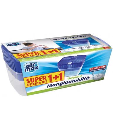 Air MAx ® Kit Tab Assorbiumidità ambiente 2 da 450g + 450g