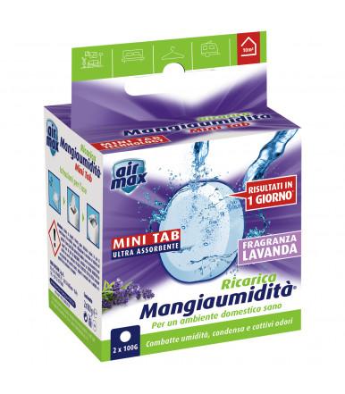 Tab Magnete assorbi umidità 2 x 100g Air Max ® Mangiaumidità lavanda