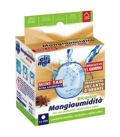 Tab Magnete assorbi umidità 2 x 100g Air Max ® Mangiaumidità Incanto d'Oriente