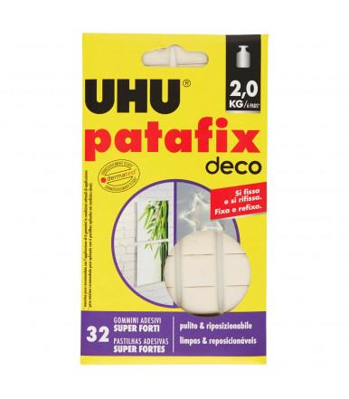 UHU Patafix Deco 32 super strong adhesive pads
