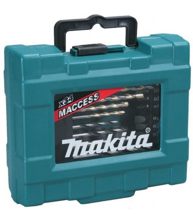 Set of 34 Makita drill bits article D-36980