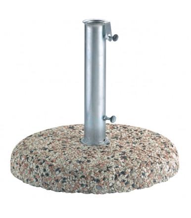 Base in grit Ø 45 cm 25 Kg for garden umbrella