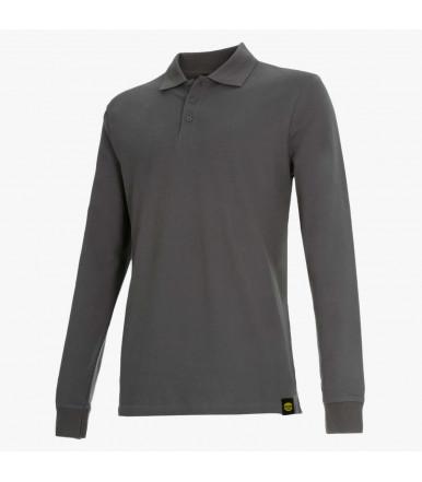 Long-sleeved work polo shirt Diadora Utility LS Atlantis II