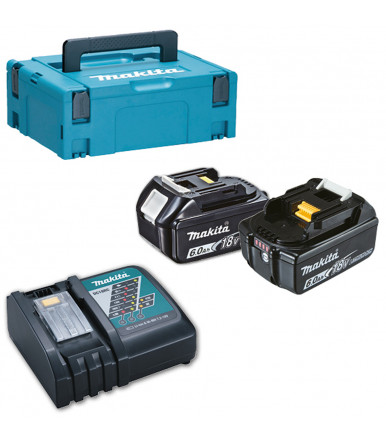 Kit Energy Makita 18V 6,0 Ah with quick charger