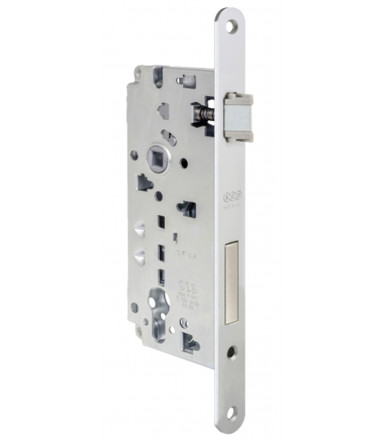 Cylinder lock Sicurezza 2.0, Forend 22 mm with DUO co-molded latch for internal door AGB