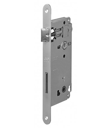 Lock Patent Grande, Forend 22 mm with bathroom lock WC for internal door AGB