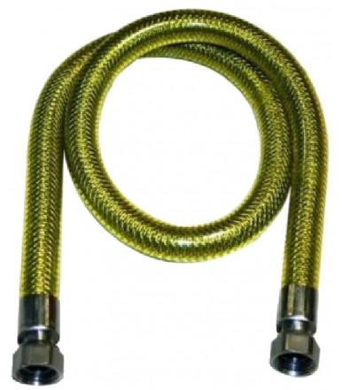 Flexible Inox hose for gas SICURFLEX GAS F/F