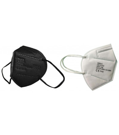 Disposable respirator mask FFP2 NR with Five-layer GreenBull- Pieces 20