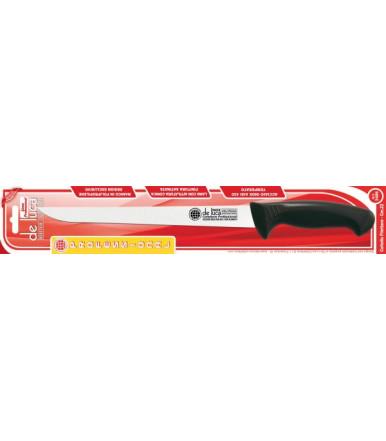 Professional filleting meat knife, blade cm. 22