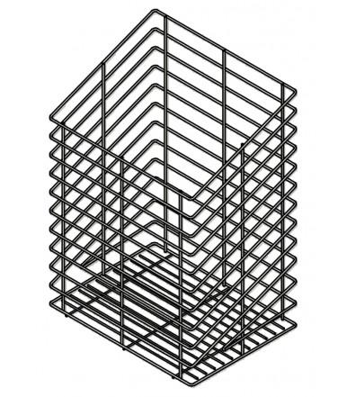Linen basket Inoxa 125 for sloping door Series Easy Range