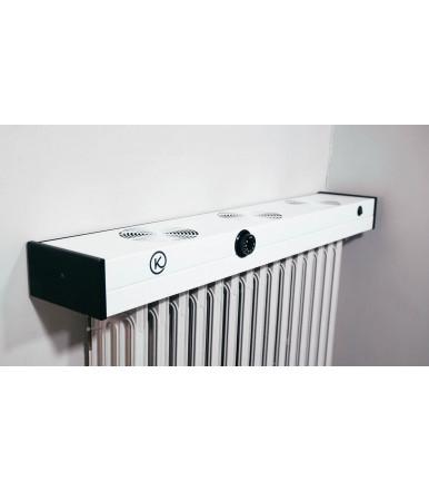 "Patented ""Kuriosa"" ventilation system for radiators"