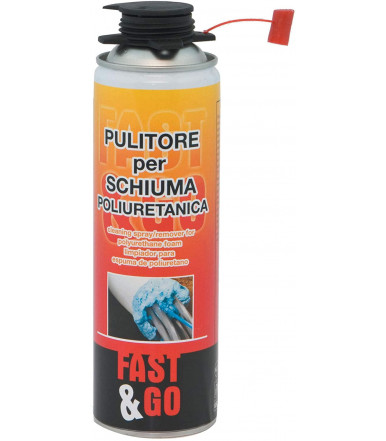 Pulitore per pistola schiuma poliuretanica Fast&Go ml 500