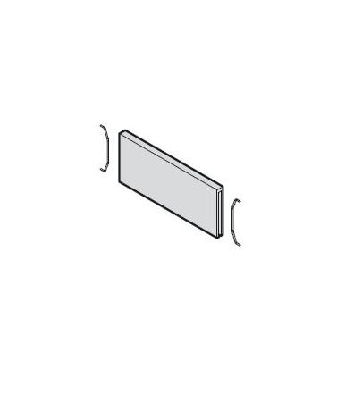 Divisore trasversale singolo per telaio stretto Blum AMBIA-LINE design legno