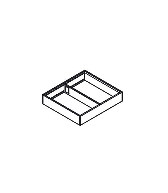 Telaio Blum AMBIA-LINE Design acciaio per cassetto