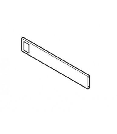Divisore trasversale singolo per telaio largo Blum AMBIA-LINE design acciaio