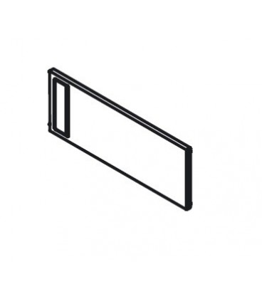 Divisore trasversale singolo Blum AMBIA-LINE design acciaio