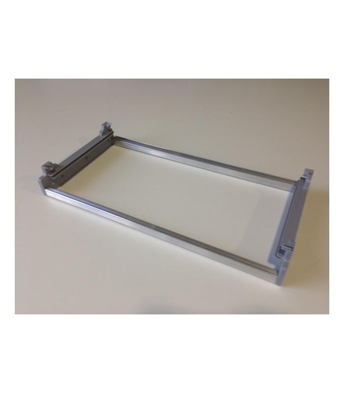 Telaio inoxa in alluminio con supporti plastico - Tipi di porta ...
