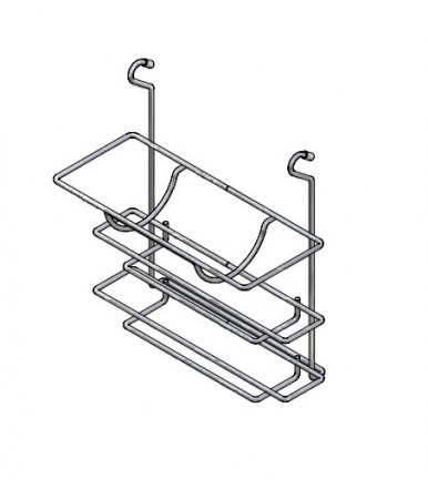 Inoxa 800-205 Triple roll holder