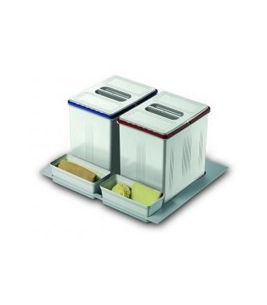 Contenitori per raccolta differenziata Inoxa 97DA/602