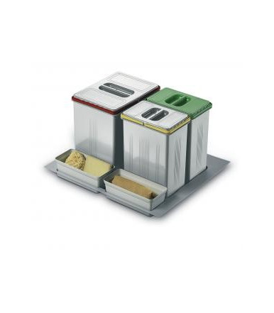 Contenitori per raccolta differenziata Inoxa 97DA/6012