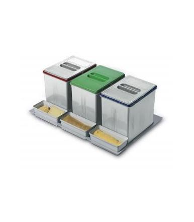 Contenitori per raccolta differenziata Inoxa 97DA/603