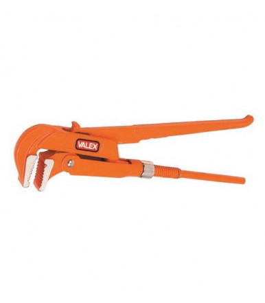 Valex swedish type pipe wrench  with 90° jaws