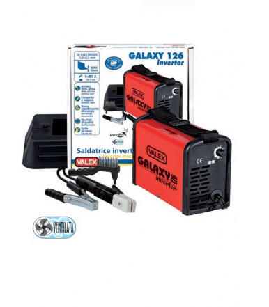 Valex Galaxy 126 ventilated welder inverter