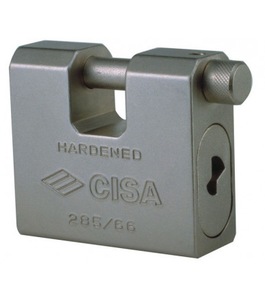 Cisa steel padlock 66 with Lim key