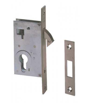 Cisa european cylinder lock for uprights