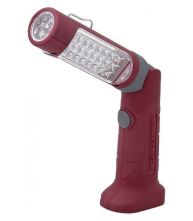 Kraftwerk 32002 24+5 Led lamp for inspection