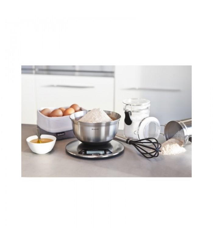 Bilancia da cucina digitale 1gr 5kg brabantia mancini mancini shop - Bilancia da cucina digitale ...