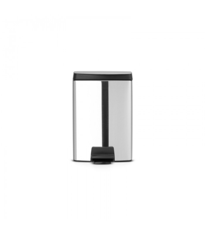 Outstanding Brabantia Pedal Bin Silent 10L Garbage Can Bralicious Painted Fabric Chair Ideas Braliciousco
