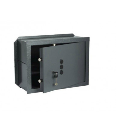 Cisa 82210 wall safe with mechanical combiner