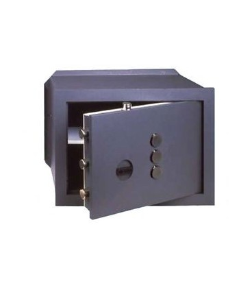 Cisa 82410 wall safe with mechanical combiner