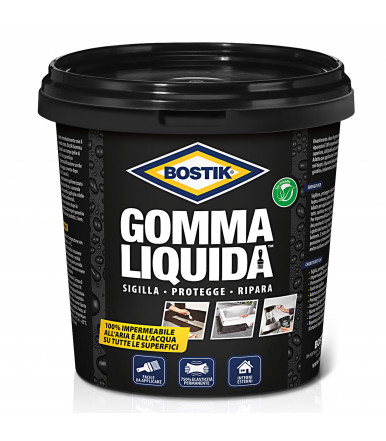 waterproofing Bostik liquid rubber